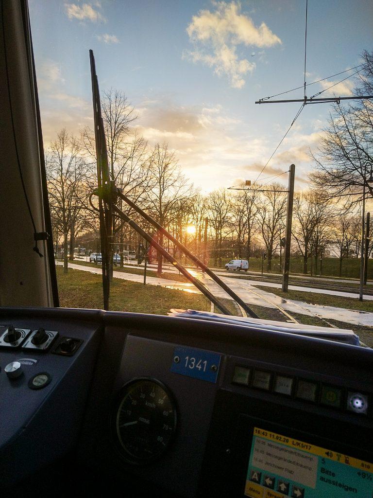 Fahrerperspektive im NGT
